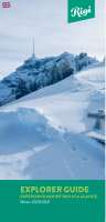 Rigi Explorer Guide Winter 2020/21
