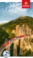Swiss Travel System Map 2021 EN