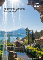 Apartments, Camping, Groups 2019/20