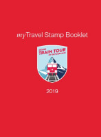 myTravel Stamp Booklet 2019, Grand Train Tour of Switzerland