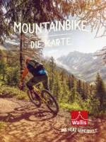 Wallis Mountainbike - die Karte