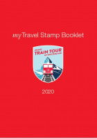 myTravel Stamp Booklet 2020, Grand Train Tour of Switzerland