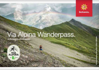 Via Alpina Wanderpass - Flyer